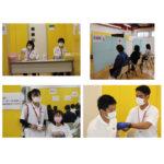 コロナワクチン2回目の職域接種を実施